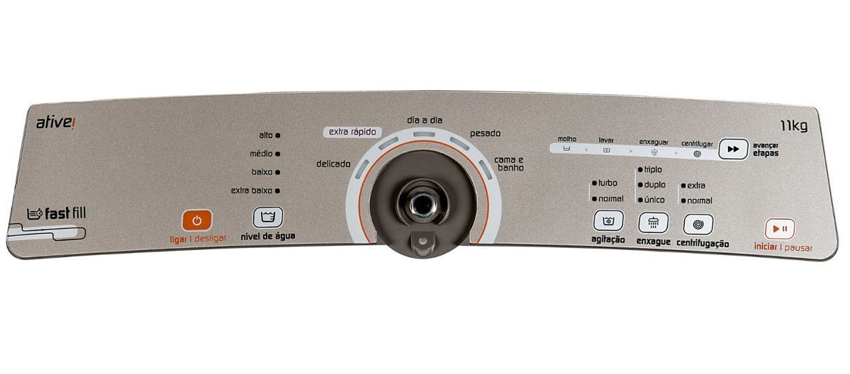 Placa Interface Console para Lavadora Brastemp BWG11AR - Cód: W10463584
