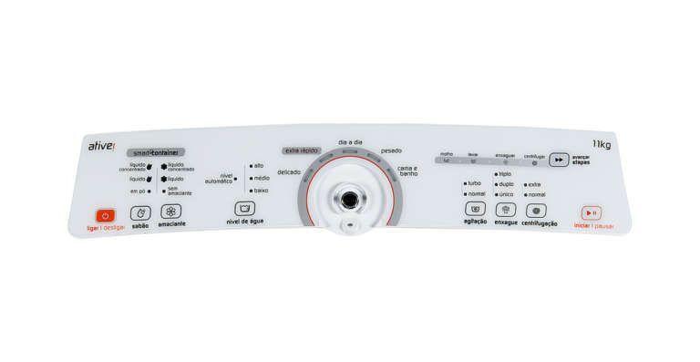 Placa Interface Lavadora Brastemp 11kg Bwu11ab - W10463579 - Bivolt