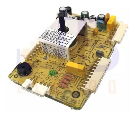 PLACA ORIGINAL PARA LAVADORA ELECTROLUX BIVOLT - MODELO LT15F - 70201676