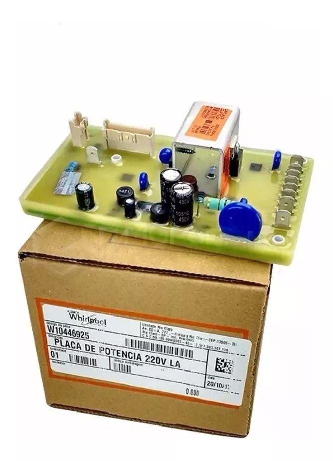 Placa Potencia para Lavadora Brastemp Consul CWL10B BWL11A - W10448500 - 326062611 - 220v - Original