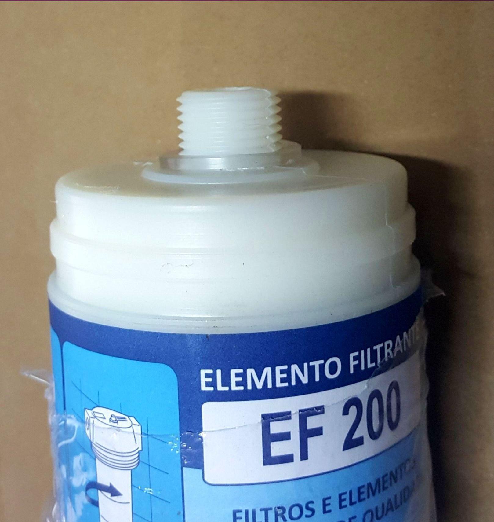 Refil Elemento Filtrante EF 200 para Purificadores e Bebedouros