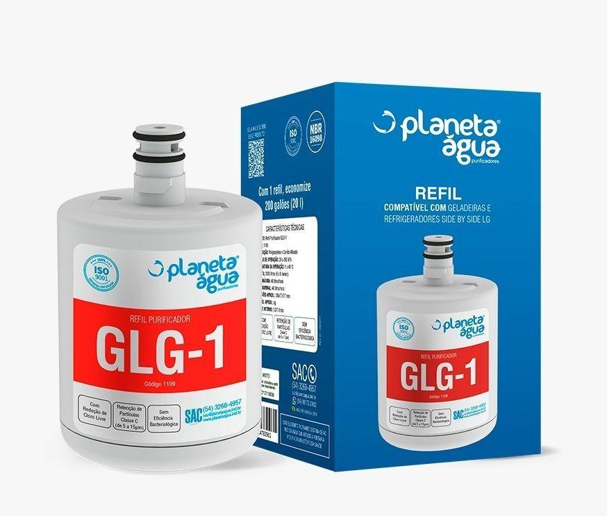 REFIL GLG-1 PARA REFRIGERADOR LG SIDE BY SIDE
