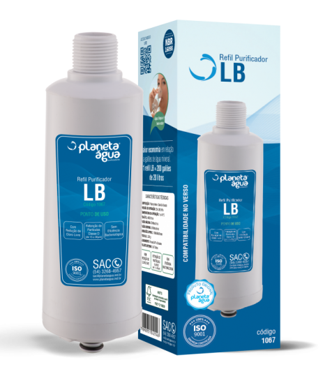 REFIL LB PARA BEBEDOURO LIBELL AQUA FLEX - Planeta Água