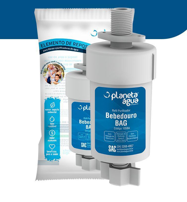 REFIL PARA BEBEDOURO BAG 40 / BAG 80 - Planeta Água