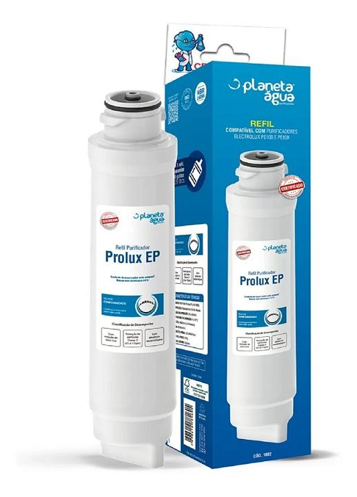 REFIL PROLUX EP PURIFICADOR ELECTROLUX  PE10B / PE10X - Planeta Água