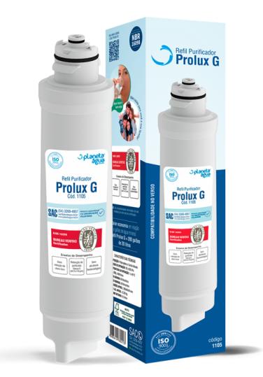 REFIL PROLUX G PARA PURIFICADOR ELECTROLUX PA21G / PA26G / PA31G - Planeta Água