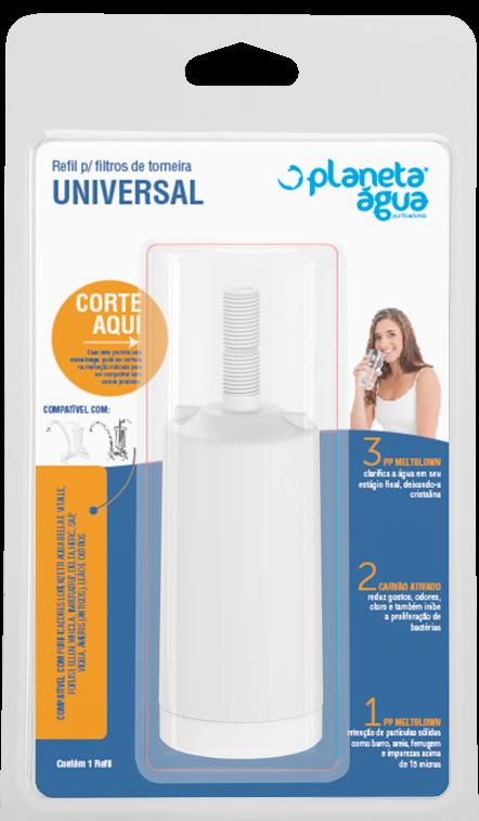 Refil Universal Rosca Longa - 1034 L  - Planeta Água
