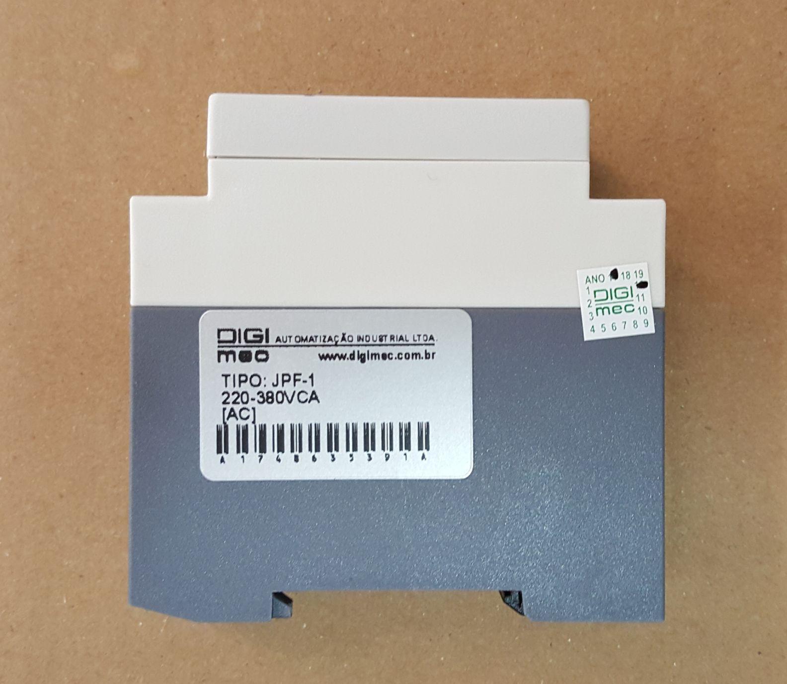 RELÉ FALTA DE FASE PPF-1 - 220/380v - DIGIMEC - Cod.: DJPHFC00