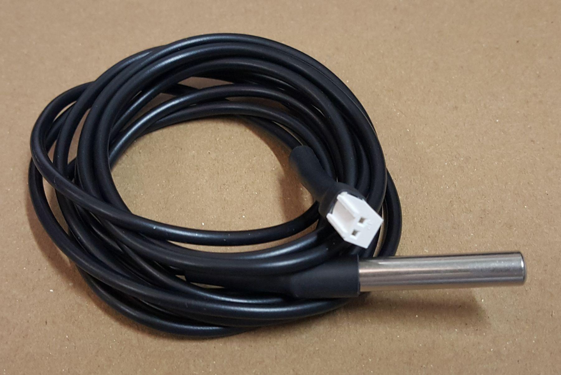 Sensor de Temperatura Preto Metalfrio com 1900 mm - Cod.: 020104S005