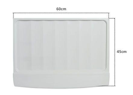 Tampa da Gaveta de Legumes Continental 460 e 470 Litros - Similar  (60x45 cm)