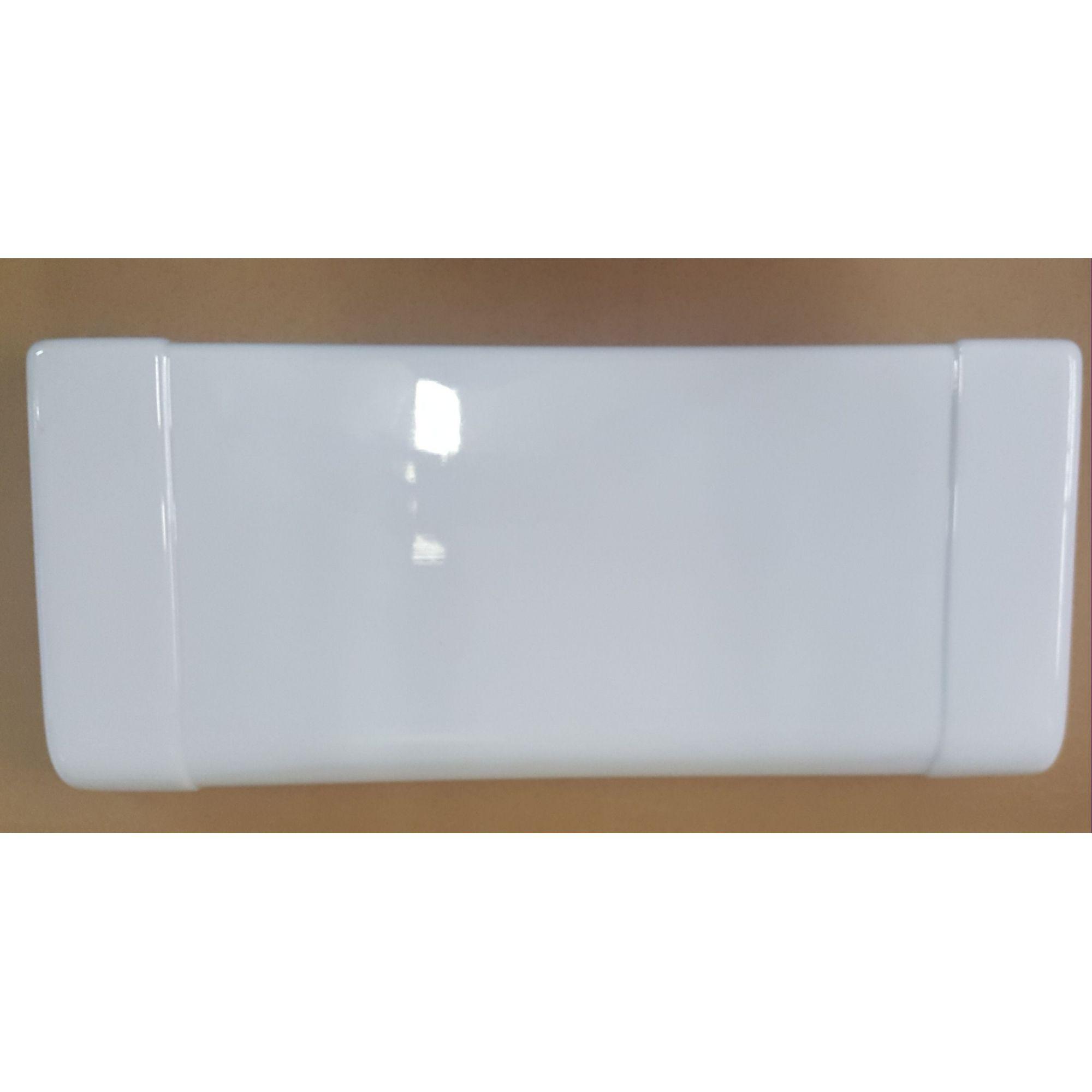 Testeira Expositor Metalfrio Slim Branca Medidas 22 x 50 cm