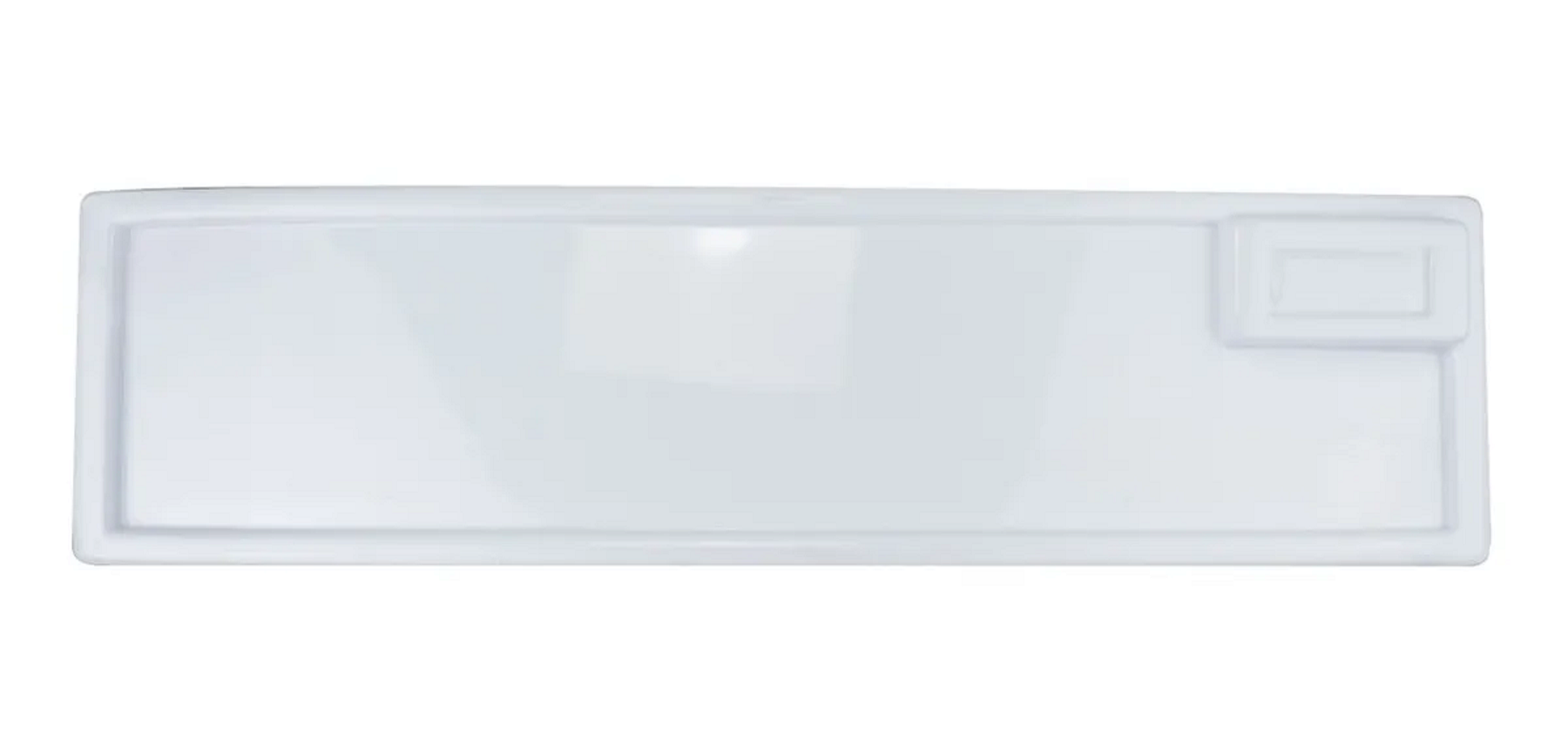 Testeira para Freezer Fricon Antiga Branca - Medida 19x67 cm