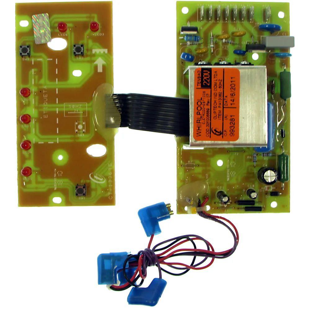 Timer Eletrônico para Lavadora Consul CWC24A - 220v - 326006689 - Original