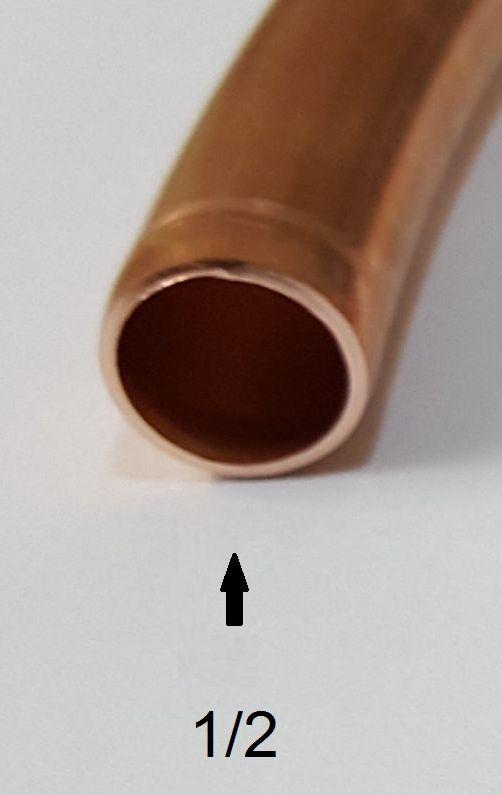 Tubo de Cobre 1/2 (panqueca com 15 metros)