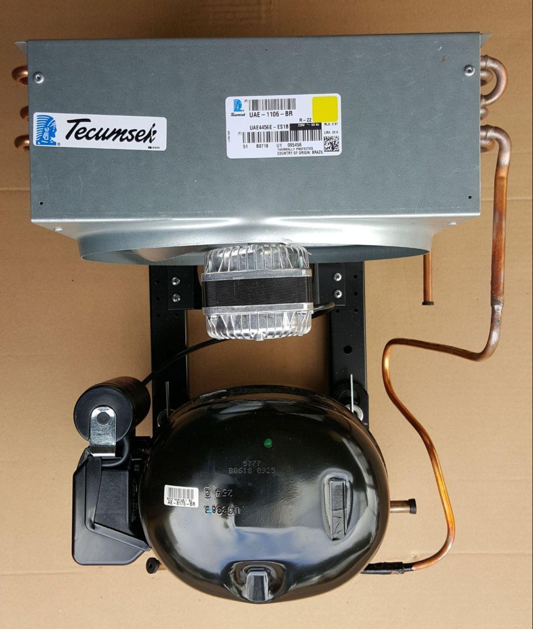 UNIDADE CONDENSADORA TECUMSEH - 1/2 HP - 220v - R22- Modelo UAE4456E