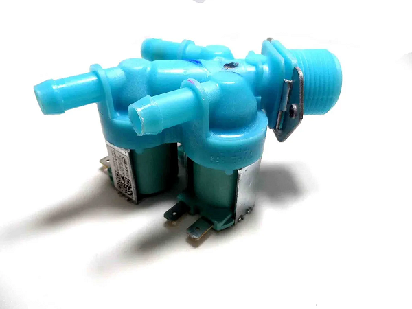 Válvula de Entrada de Água Tripla 220v - SAMSUNG - DC62-00233B