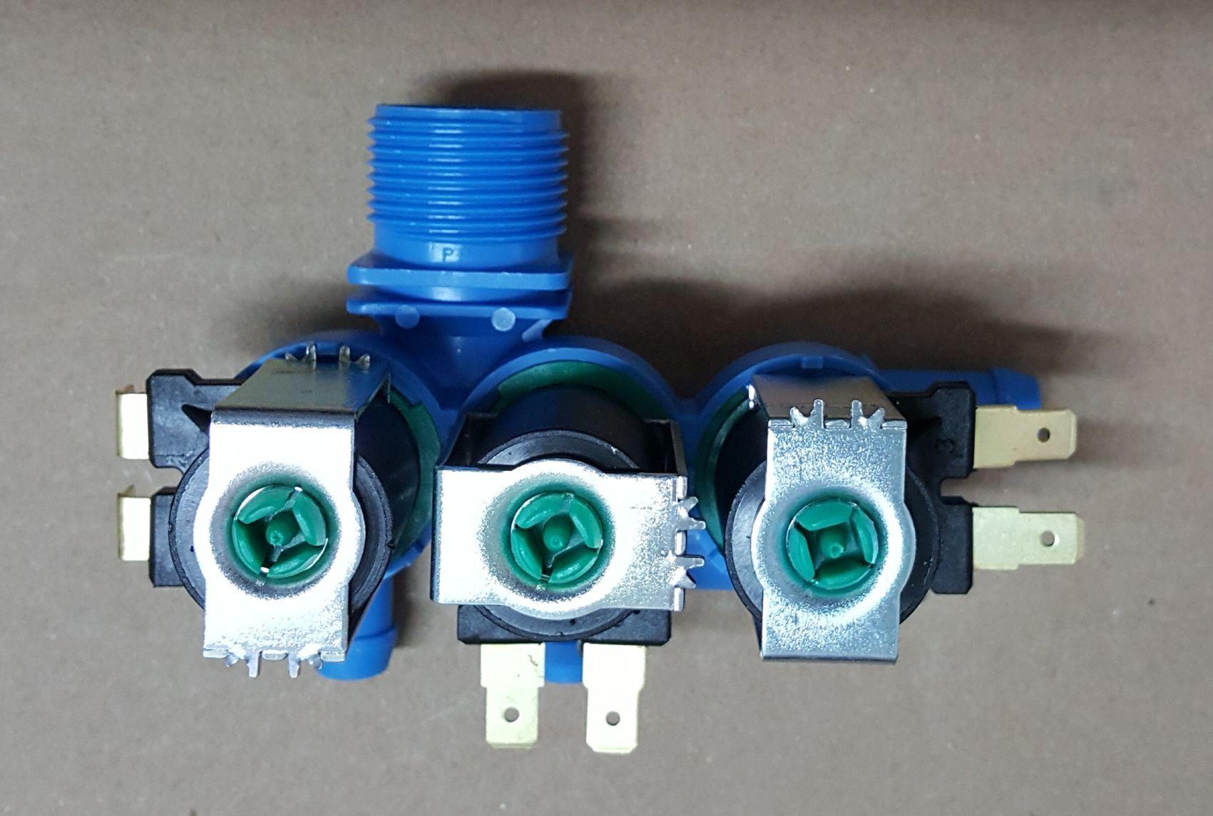 Válvula Tripla para Lavadora Electrolux - 220v
