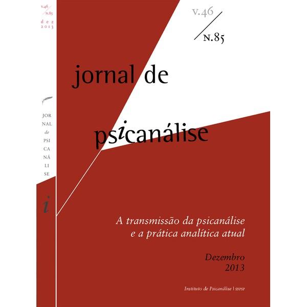 Jornal de Psicanálise Vol. 46 Nº 85