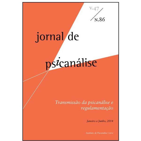 Jornal de Psicanálise Vol. 47 Nº 86