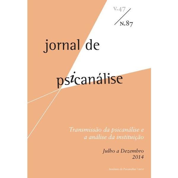Jornal de Psicanálise Vol. 47 Nº 87