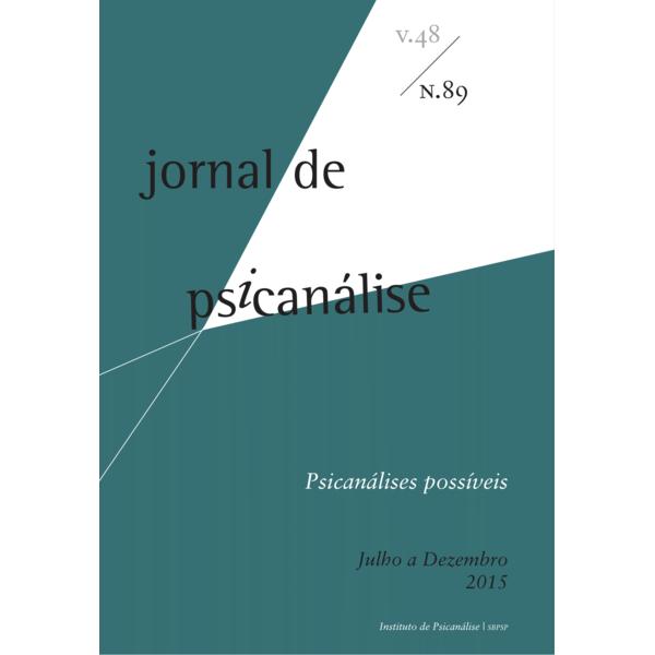 Jornal de Psicanálise Vol.48 Nº 89