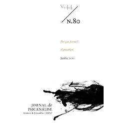 Jornal de Psicanálise Vol. 44 Nº 80