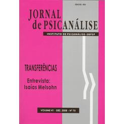 Jornal de Psicanálise Vol. 41 Nº 75