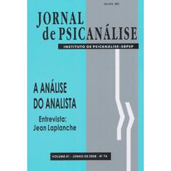 Jornal de Psicanálise Vol. 41 Nº 74