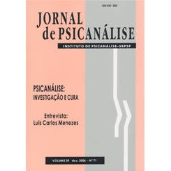 Jornal de Psicanálise Vol. 39 Nº 71