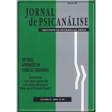 Jornal de Psicanálise  Vol. 37 Nº 68