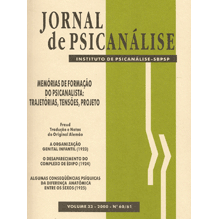 Jornal de Psicanálise Vol. 33 Nº 60/61