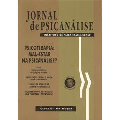 Jornal de Psicanálise Vol. 32 Nº 58/59
