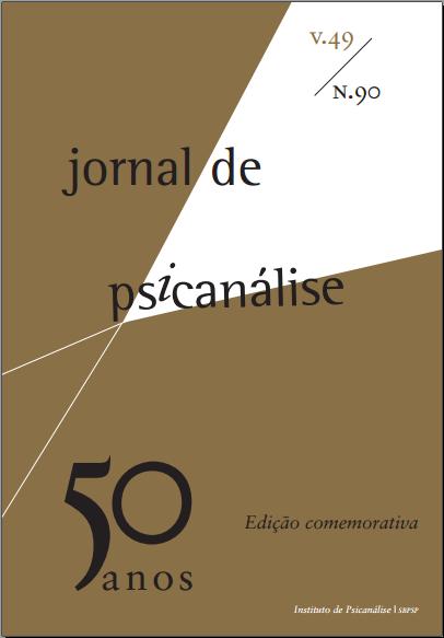 Jornal de Psicanálise Vol. 49 Nº90