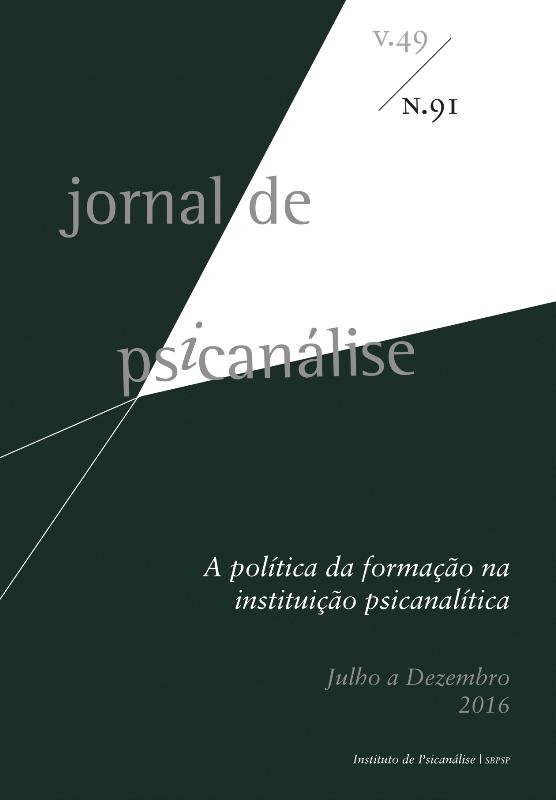 Jornal de Psicanálise  Vol. 49 Nº91