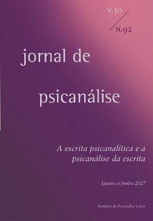 Jornal de Psicanálise  Vol. 50 Nº92