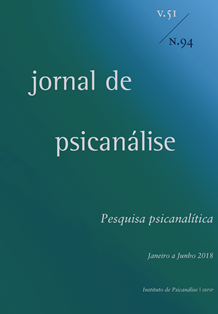 Jornal de Psicanálise  Vol. 51 Nº94
