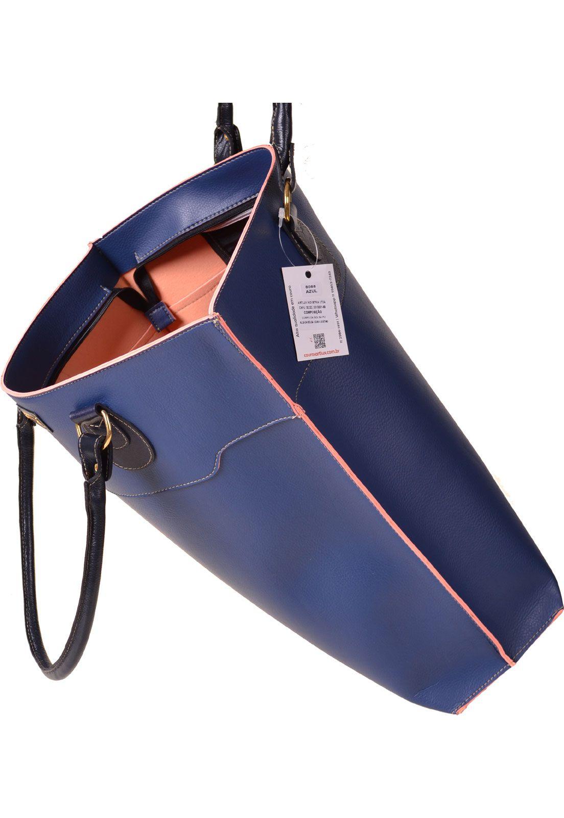 Bolsa Artlux Bicolor Azul
