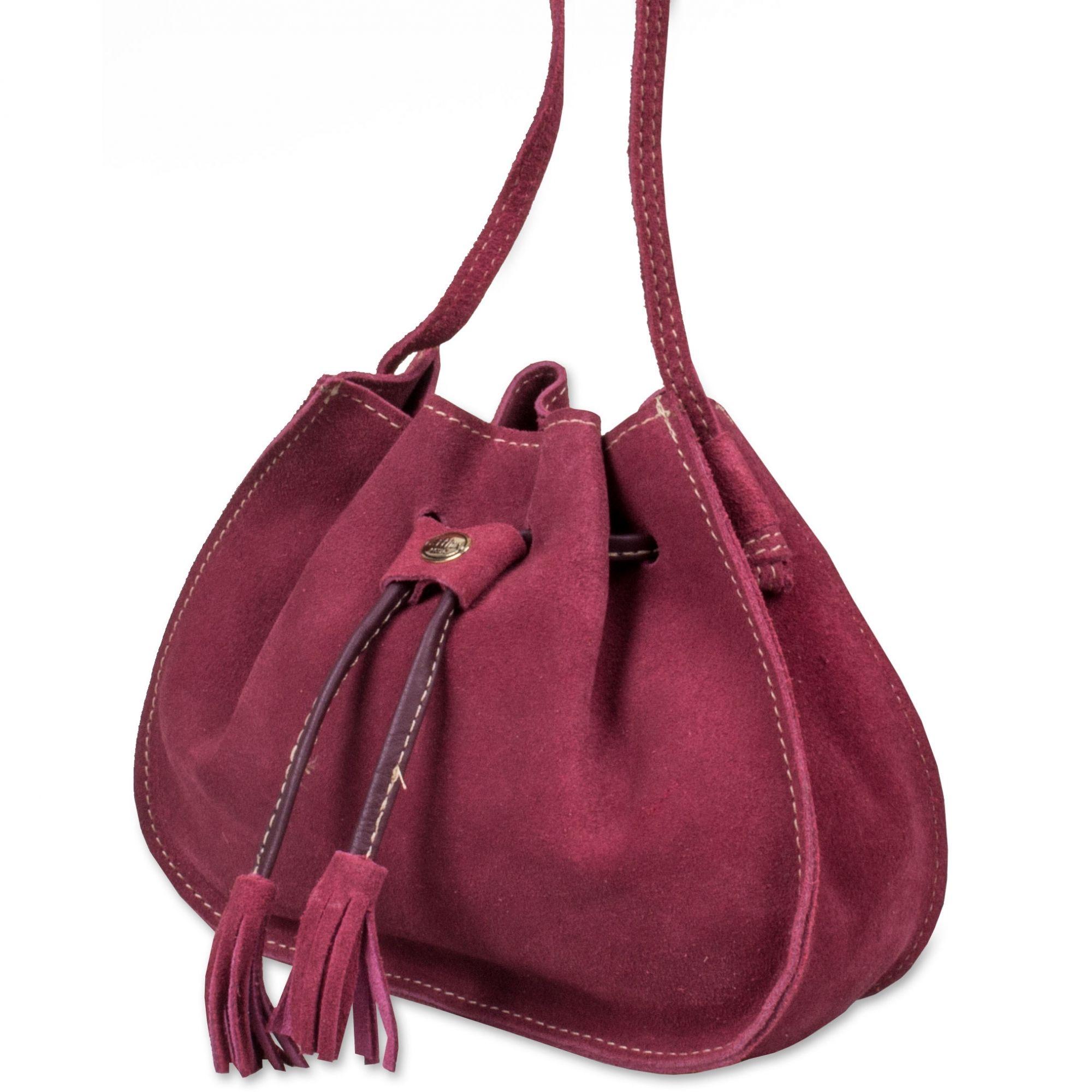 ... Bolsa Saco Feminina de Couro ... 83e4265e7fc