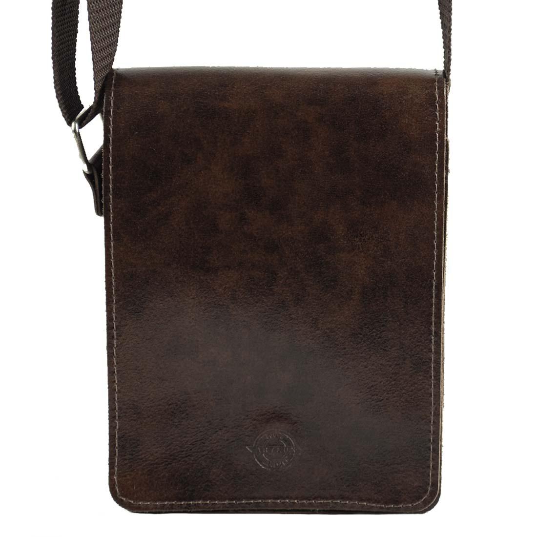 Bolsa Shoulder Bag Unissex em Couro