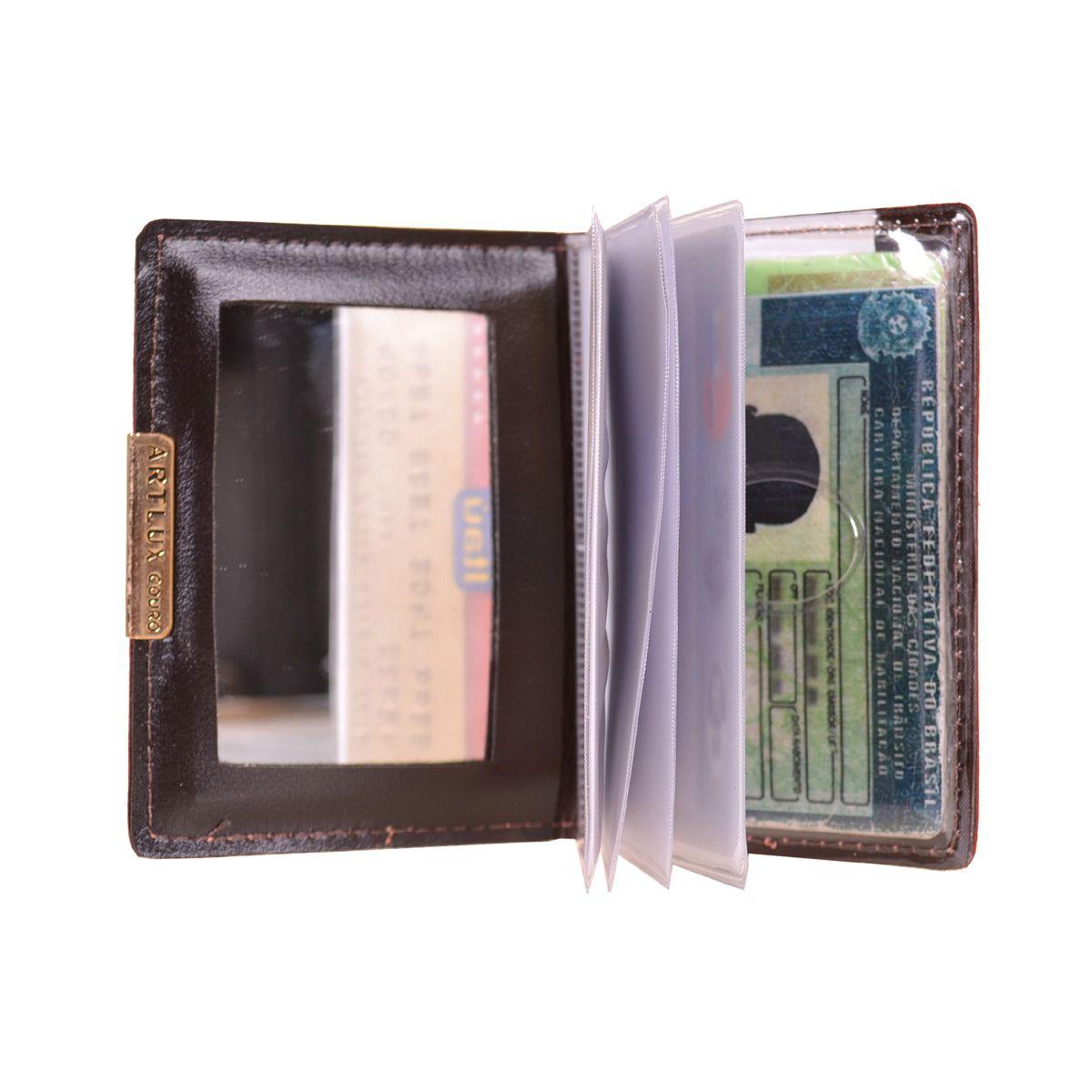 Kit Porta Documentos mais Porta Cartões  Habilitação