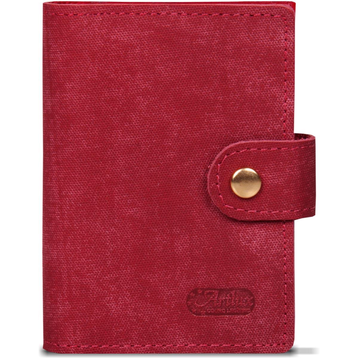 Porta Cartão Unissex de Couro