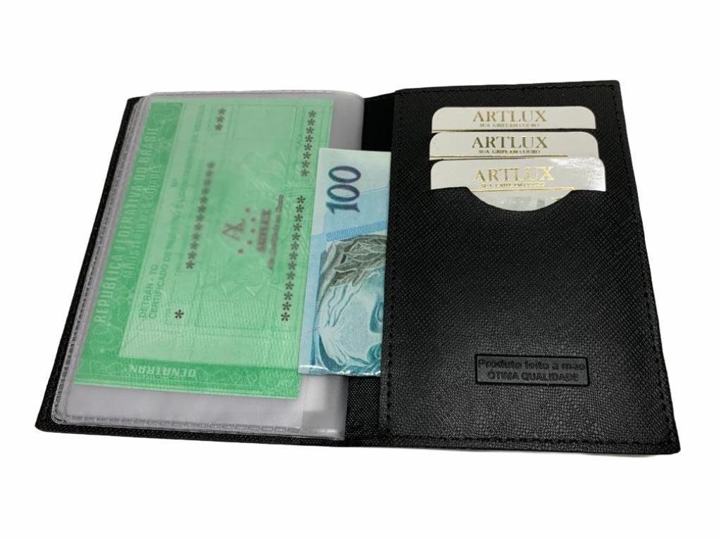 Porta Documento de Carro e RG Sintético Artlux