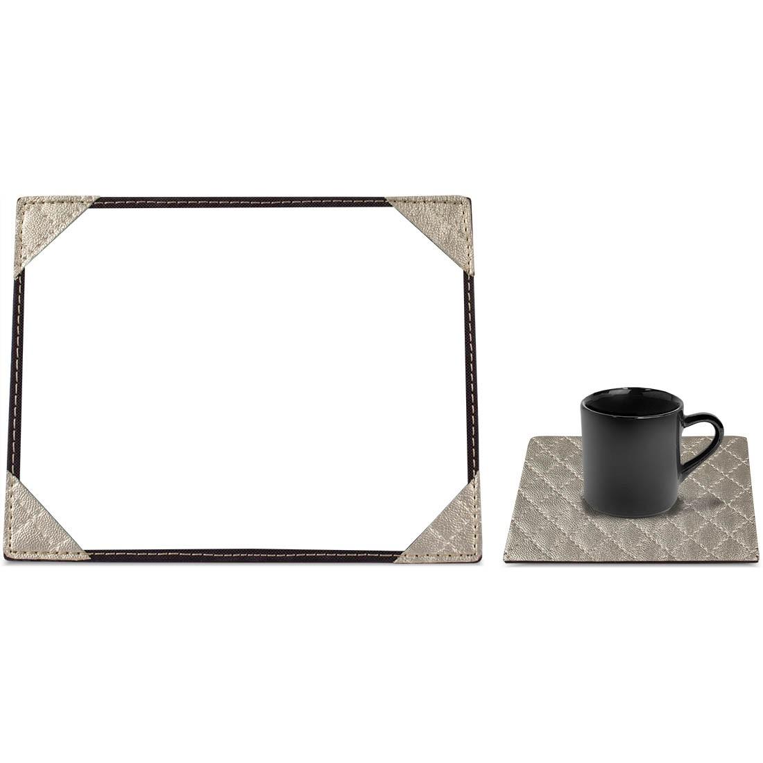 Porta Retrato Risque Rabisque e Porta Espelho