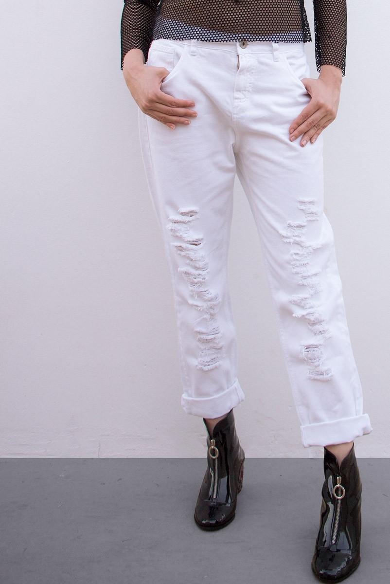 Calça Jeans Wht Bad Kids