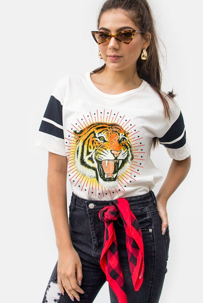 T-shirt Athletic Tiger