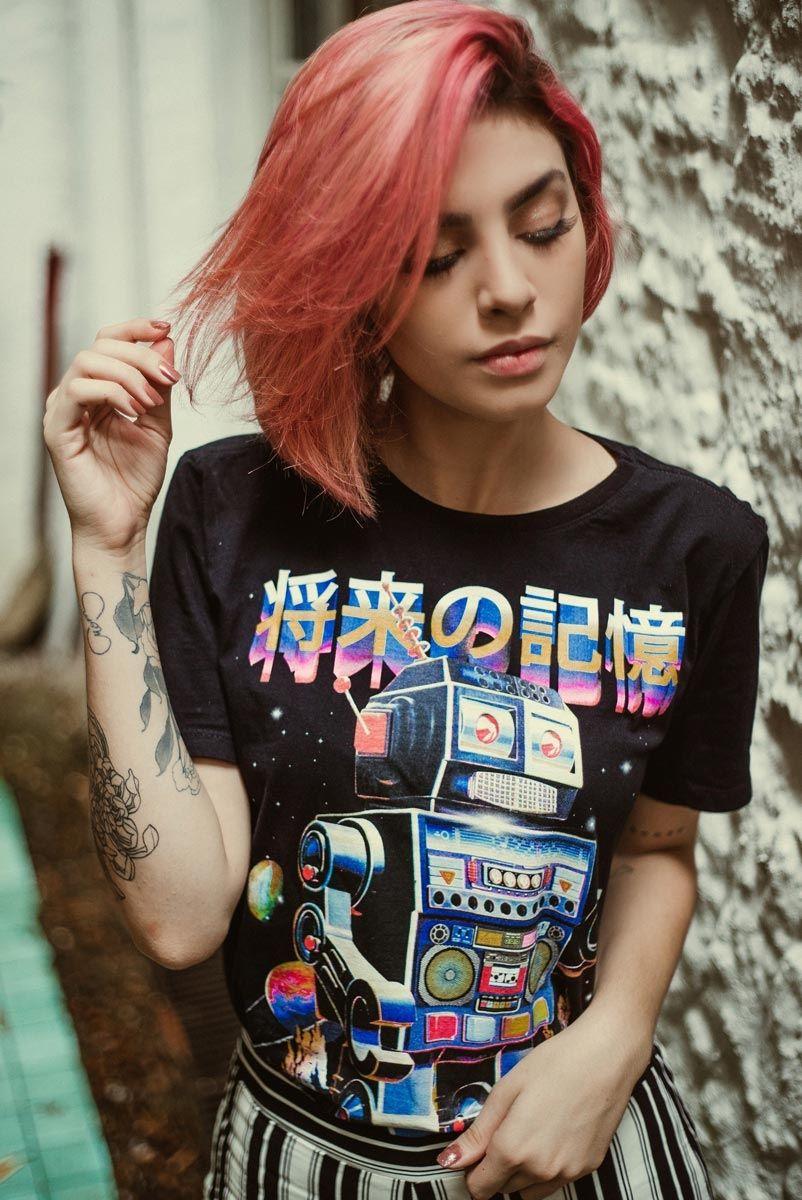 T-shirt Future Memory ROBÔ