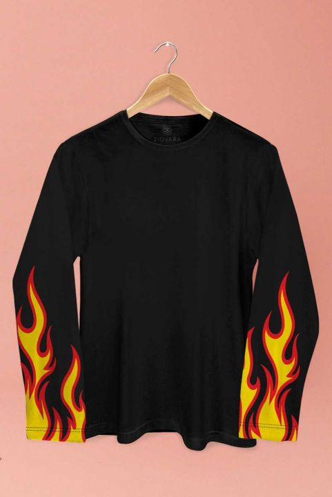 Blusa PLUS Manga Longa Fire