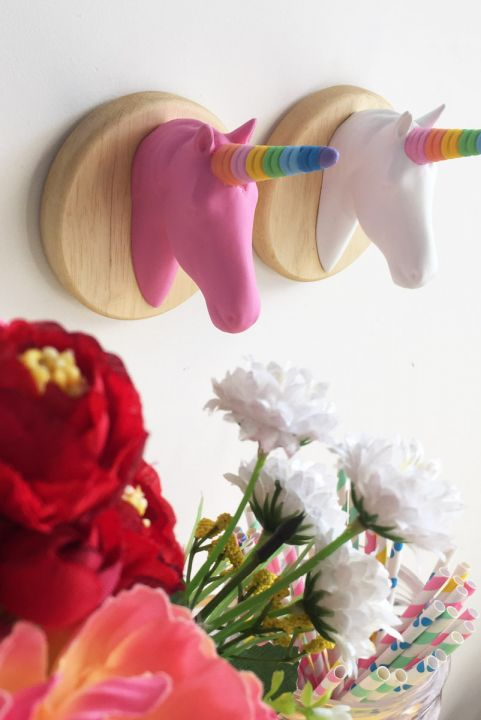Unicórnio Rainbow Decorativo