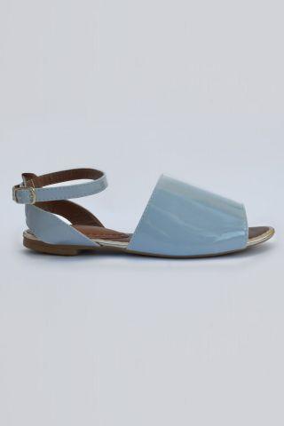 Flat Avarca Blue