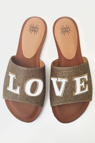 Flat Glitter LOVE